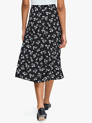 dandelion floral skirt by kate spade new york hover view