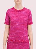 T-Shirt aus Strick-Tweed, , s7productThumbnail
