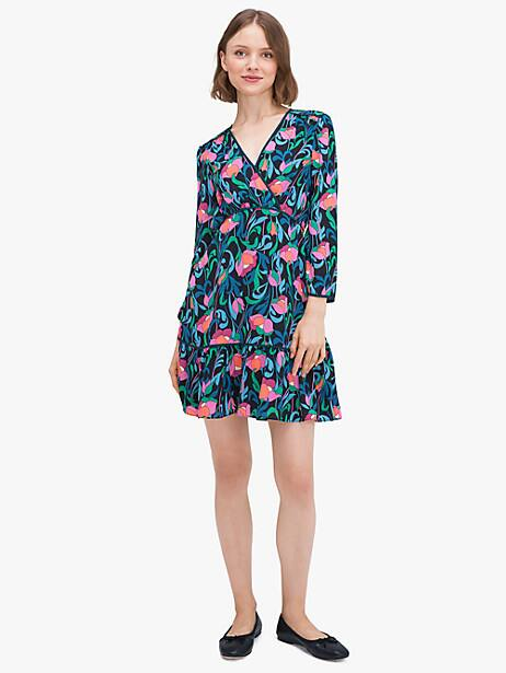 floral swirl dress by kate spade new york