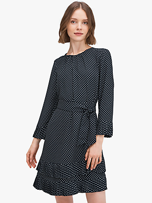 dainty dot dress by kate spade new york non-hover view