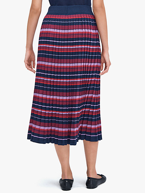Striped pleated skirt   Kate Spade New York