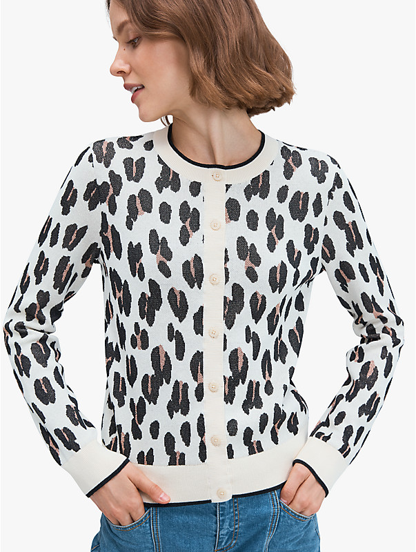 leopard signature cardigan, , rr_large