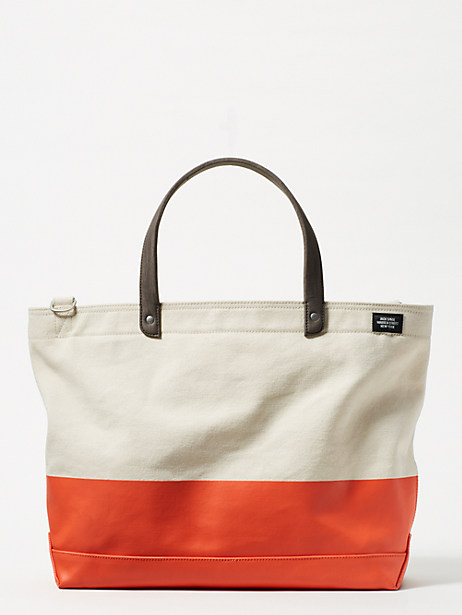 dipped industrial canvas coal bag by kate spade new york