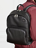 pebbled leather backpack, , s7productThumbnail