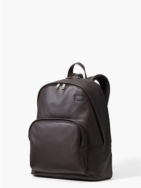 Rucksack aus strukturiertem Leder, , rr_large
