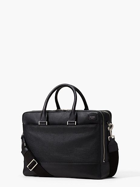 pebbled leather overnight brief by kate spade new york