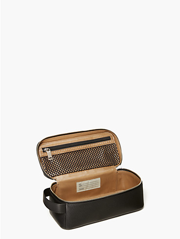 pebbled leather dopp kit, , rr_productgrid
