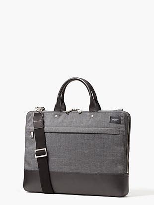 tech oxford slim brief by kate spade new york non-hover view