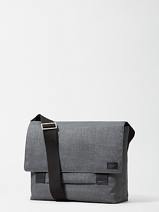tech oxford field messenger by kate spade new york non-hover view