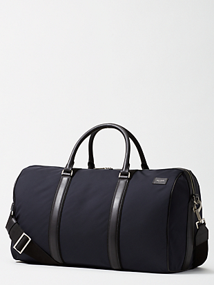 nylon twill gym duffel by kate spade new york non-hover view