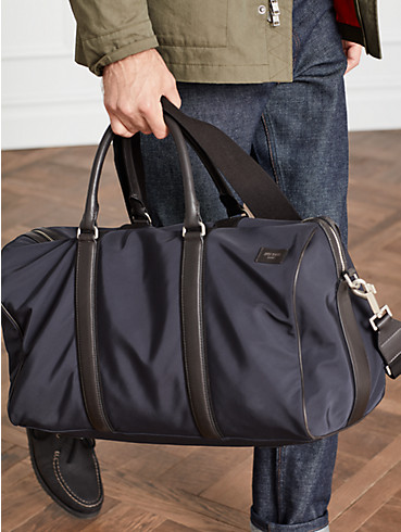 nylon twill gym duffel, , rr_productgrid