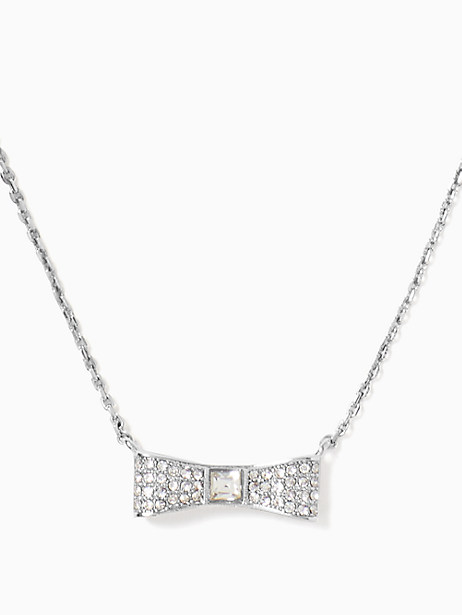 ready set bow pave bow mini pendant by kate spade new york
