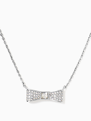 ready set bow pave bow mini pendant by kate spade new york non-hover view