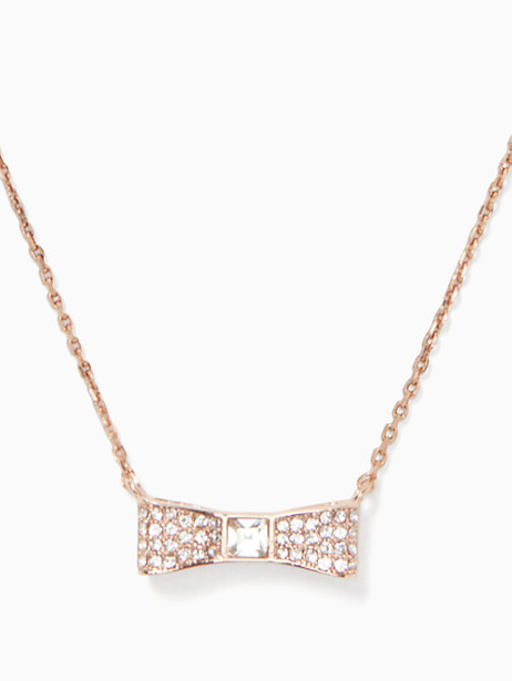 ready set bow pave mini pendant by kate spade new york
