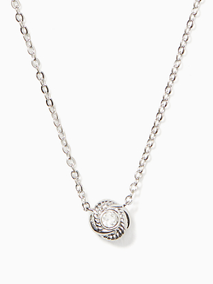 infinity & beyond knot mini pendant by kate spade new york non-hover view