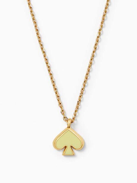 everyday spade enamel mini pendant by kate spade new york