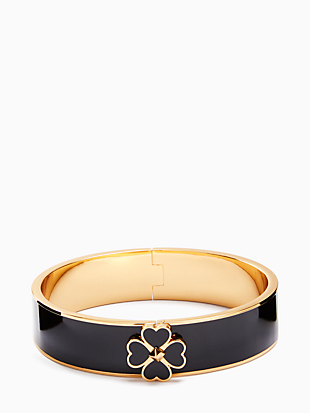everyday spade floral spade enamel bangle by kate spade new york non-hover view