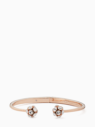 time to shine open hinged cuff by kate spade new york non-hover view