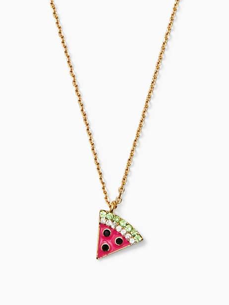 picnic perfect watermelon mini pendant by kate spade new york