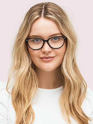 olive readers with blue-light filters by kate spade new york hover view