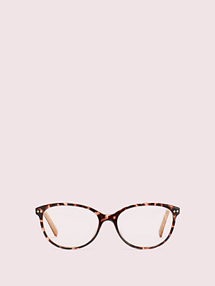 olive readers with blue-light filters by kate spade new york non-hover view