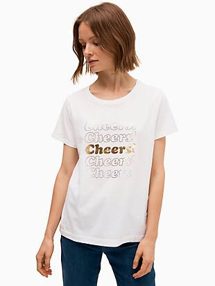 cheers tee by kate spade new york non-hover view