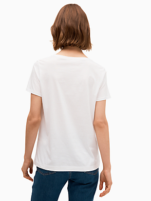 cheers tee by kate spade new york hover view