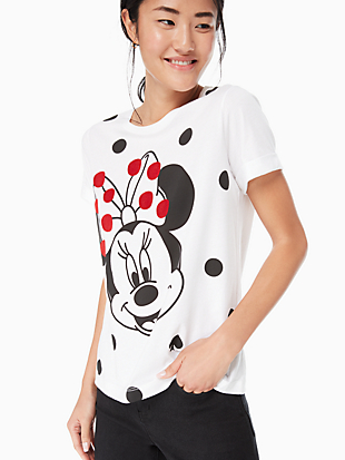 minnie mouse tee by kate spade new york non-hover view