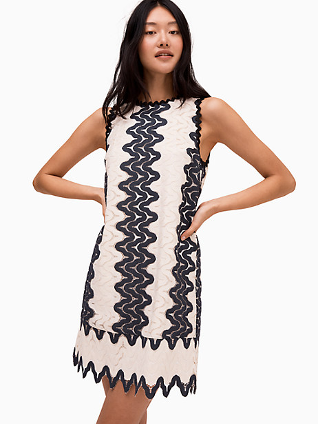 sand dune lace shift dress by kate spade new york