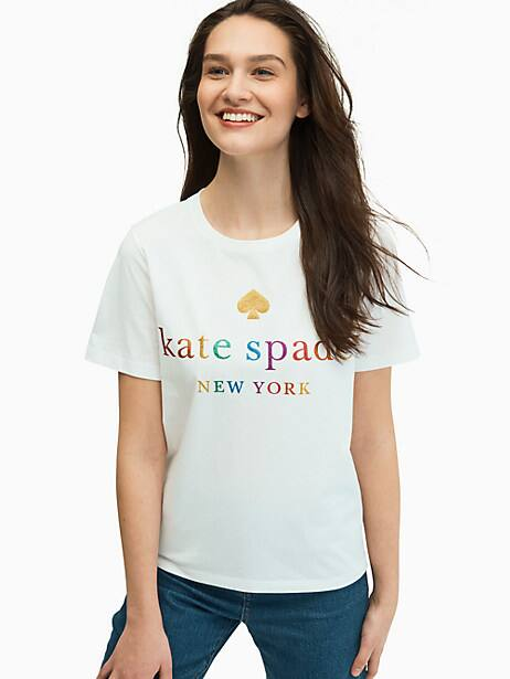 rainbow tee by kate spade new york