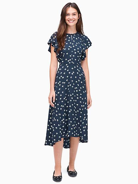 daisy toss flutter sleeve dress by kate spade new york