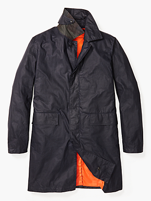 waxwear trench coat by kate spade new york non-hover view