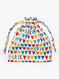 rainbow hearts & spade flower non-medical mask set, , s7productThumbnail