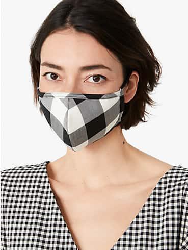 gingham non-medical mask set, , rr_productgrid