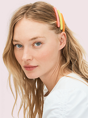thin barrette set by kate spade new york non-hover view