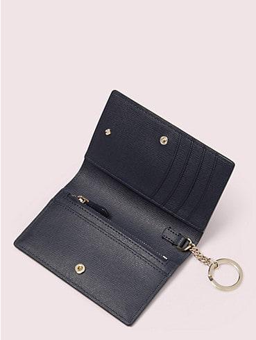 Kleine Margaux Brieftasche mit Schlüsselring und Zitronenmuster, , rr_productgrid