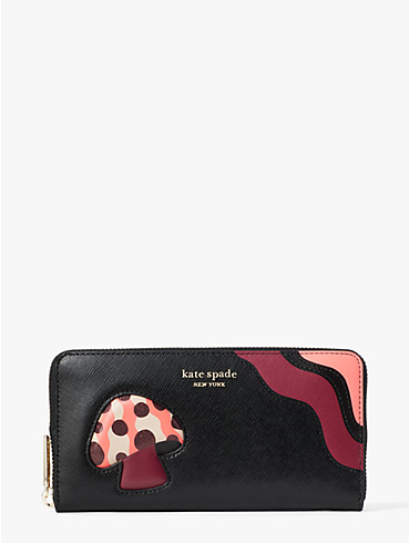enchanted forest zip-around continental wallet, , rr_productgrid