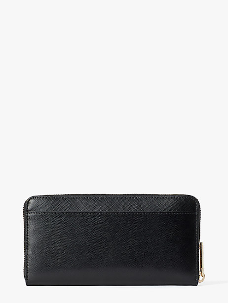 Enchanted forest zip-around continental wallet   Kate Spade New York