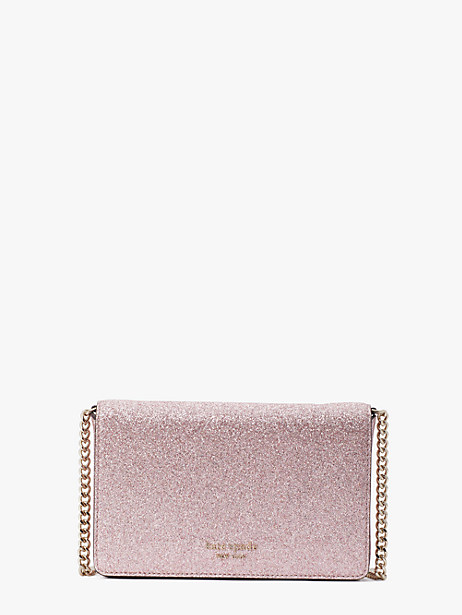 spencer glitter chain wallet by kate spade new york