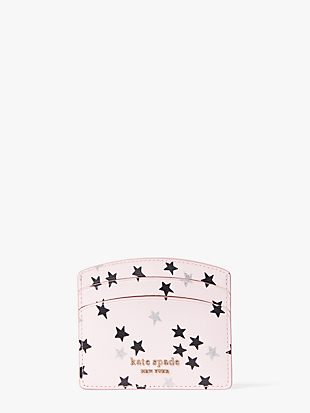spencer confetti stars cardholder by kate spade new york non-hover view