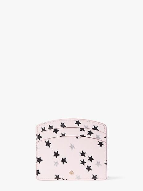 Spencer confetti stars cardholder | Kate Spade New York