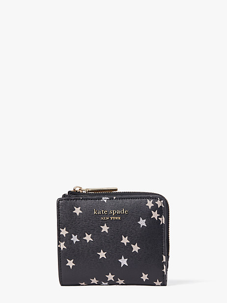 spencer confetti stars small bifold wallet by kate spade new york