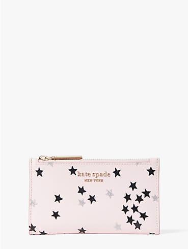 spencer confetti stars small slim bifold wallet, , rr_productgrid