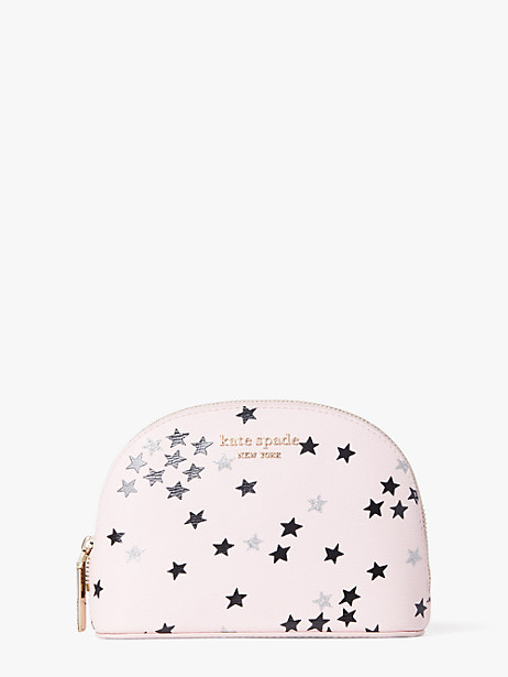 spencer confetti stars small dome cosmetic case by kate spade new york