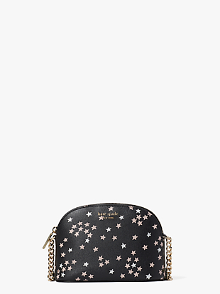 spencer confetti stars small dome crossbody by kate spade new york non-hover view