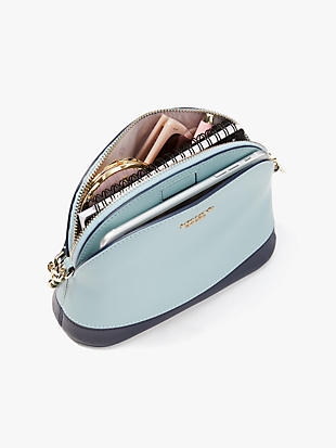 spencer confetti stars small dome crossbody by kate spade new york hover view
