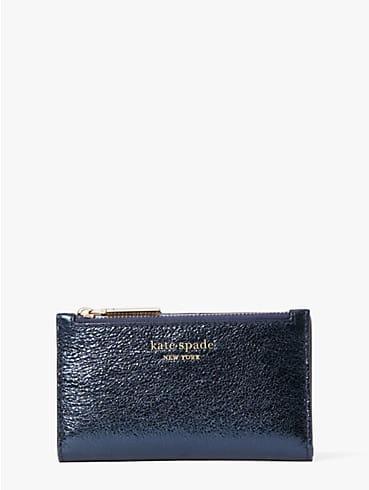 spencer metallic small slim bifold wallet, , rr_productgrid