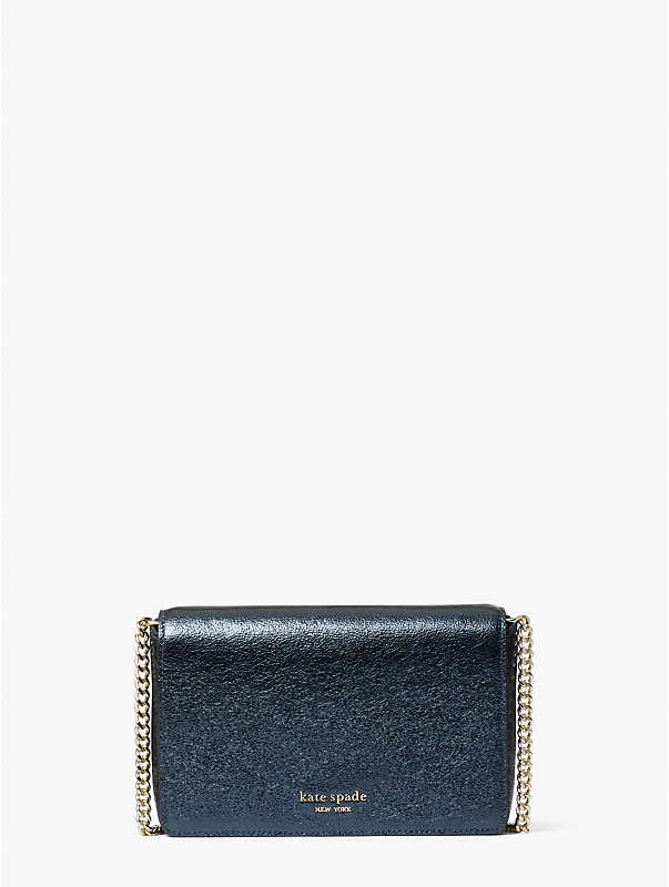 spencer metallic chain wallet, , rr_large
