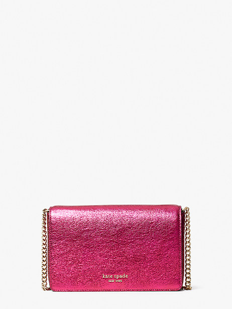 Spencer metallic chain wallet | Kate Spade New York