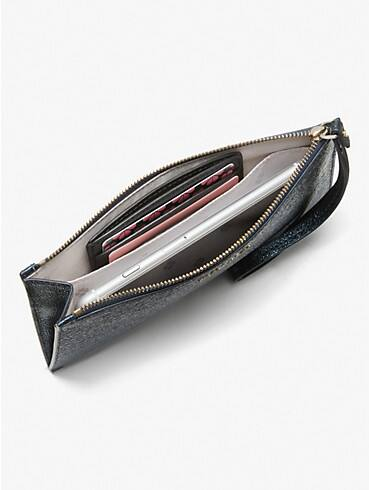 spencer metallic phone wristlet, , rr_productgrid